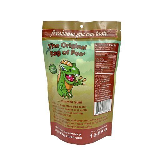 Original Bag Of Poo Product Dinosaur Back