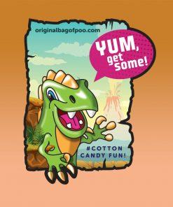 Original Bag Of Poo Product Dinosaur Sticker