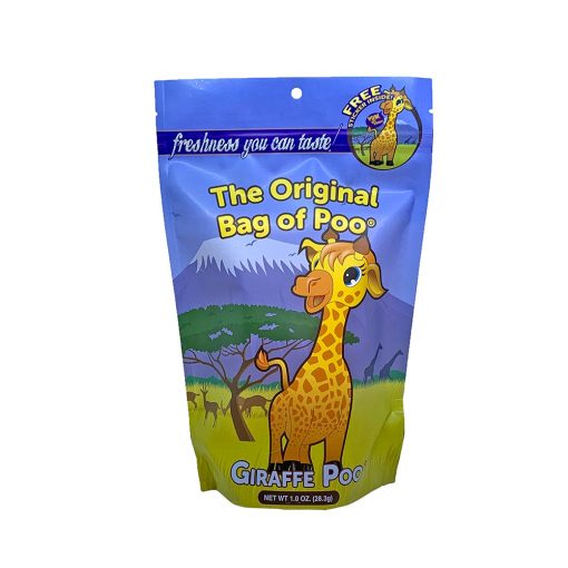 Original Bag Of Poo Product Giraffe Front