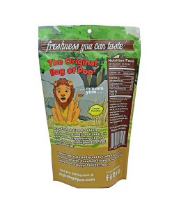 Original Bag Of Poo Product Lion Back