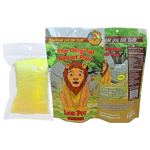 Original Bag Of Poo Product Lion Poo