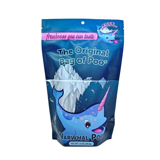 Original Bag Of Poo Product Narwhal Front