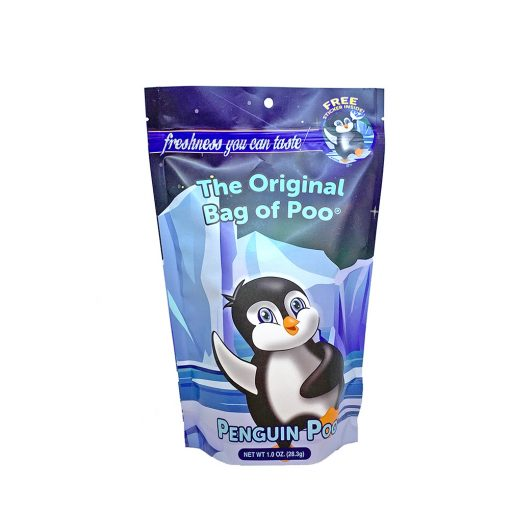 Original Bag Of Poo Product Penguin Front