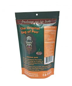 Original Bag Of Poo Product Sasquatch Back