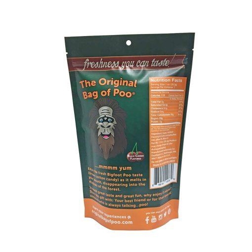 Original Bag Of Poo Product Sasquatch Back