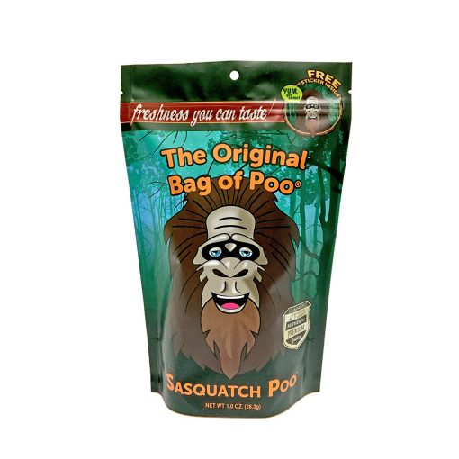 Original Bag Of Poo Product Sasquatch Front