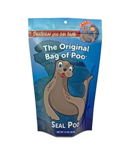 Whether it's in the wild or in an aquarium or zoo, Sea Lion Poo Cotton Candy- The Original Bag of Poo Black Cherry Flavored Cotton Candy is always a treat. It's the perfect gag gift for any age and for all those special occasions when you need a few laughs.