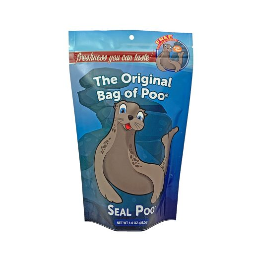 Original Bag Of Poo Product Seal Front