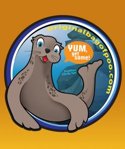 Original Bag Of Poo Product Seal Sticker
