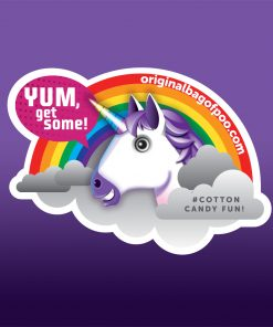 Original Bag Of Poo Product Unicorn Sticker